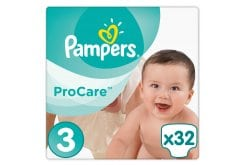 Pampers Procare Premium Protection No.3 (Midi) 5-9 kg Βρεφικές Πάνες, 32 τεμάχια