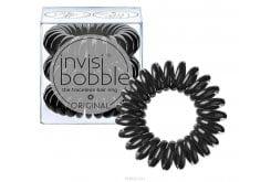 Invisibobble ORIGINAL Λαστιχάκια Μαλλιών για όλες τις ηλικίες, για κάθε στυλ & τύπο μαλλιών, 3 τεμάχια - True Black