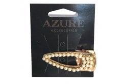 Azure Αξεσουάρ για Μαλλιά Ράμφος με Πέρλες, 1 τεμάχιο (ΜΑ-0013)