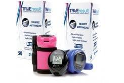 2 x TRUEresult Strips, 50 ταινίες & ΔΩΡΟ Το Συστημα Μετρησης Σακχαρου TRUEresult TWIST 2 KIT (λευκο, μπλε, φουξια) + 10 ταινίες