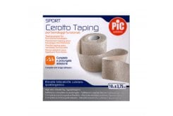 PIC Sport Taping Plaster for Functional Bandages, 3,75cm x 10m