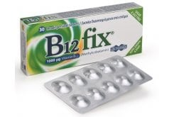 UniPharma B12 fix 1000μg (Methylcobalamin) Βιταμίνη B12, 30 tabs
