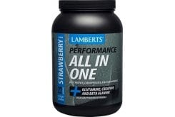 LAMBERTS Performance ALL-IN-ONE Whey Protein (Creatine & Beta Alanine) 1450gr - γεύση ΦΡΑΟΥΛΑ