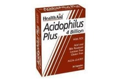 Health Aid ACIDOPHILUS Plus (4 billion), 30 κάψουλες