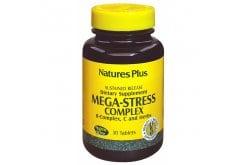 Nature's Plus Mega Stress Complex Φόρμουλα κατά του Άγχους, 30 tabs