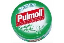 PULMOLL Καραμέλες με Ευκάλυπτο & Μενθόλη, 45gr