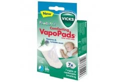 Vicks Pediatric Comforting Vapo Pads Rosemary & Lavender Scent Ταμπλέτες για βρέφη 3m+ & παιδιά, 7 ταμπλέτες
