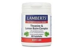 LAMBERTS THEANINE & LEMON BALM, 60 tabs