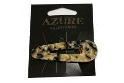 Azure Εφηβικό Αξεσουάρ για Μαλλιά Ράμφος Λεοπάρ, 1 τεμάχιο (MA-0020) - Ανοιχτή Απόχρωση