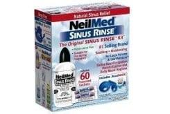 NeilMed Sinus Rinse Original Kit, 1 συσκευασία + 60 φακελάκια