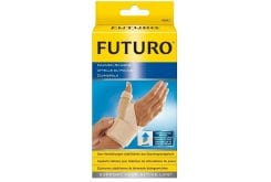 Futuro Deluxe Thumb Stabilizer, Provides comfortable protection and firm support for weak, aching or sore thumbs. It is also ideal for those experiencing arthritic symptoms or degenerative joint disease of the thumb.