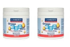 2x Lamberts Omega 3 6 9 1200mg, 2x 120caps