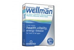 Vitabiotics Wellman Tablets, 30 ταμπλέτες