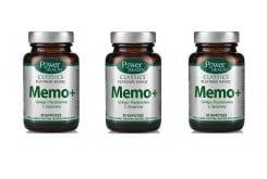 3 x Power Health Classics Platinum MEMO+, 3 x 30 caps