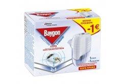 Baygon Liquid Υγρό Σετ 45 Νύχτες ΠΡΟΣΦΟΡΑ -1€, 27 ml + 1 Ανταλλακτικό