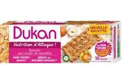 Dukan Expert Μπισκότα Βρώμης Dukan με Γεύση Φουντούκι, 225 gr