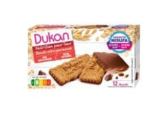 Dukan Expert Oat Biscuits with Chocolate Coating, 200gr (4 x 50gr)
