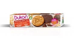 Dukan Expert Oat Biscuits with Chocolate Coating & Chia Seeds, 160 gr