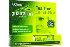 Optima Australian Tea Tree Antiseptic Blemish Stick, Αντισηπτικό Στικ με Έλαιο Τεϊόδεντρου, 7 ml