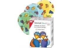 3M Opticlude Junior Boys & Girls Eye Patches Mini Οφθαλμικός Ορθοπτικός Επίδεσμος για Παιδιά (5.0cm x 6.2cm), Μικρό Μέγεθος, 20 τεμάχια