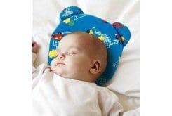 Anatomic Help Baby Plagiocephaly Pillow Memory 0901 Μαξιλάρι Πλαγιοκεφαλής, 1 τεμάχιο - Μπλε