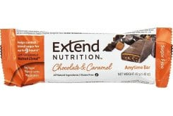 Extend Nutrition Chocolate & Caramel Διατροφική Μπάρα με Στέβια, 44g