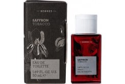 Korres Saffron Tobacco Eau De Toilette Ανδρικό Άρωμα, 50ml