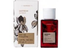 Korres Saffron Amber Eau de Toilette, 50ml