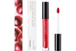 Korres Morello Matte Lasting Lip Fluid 53 Red Velvet , 3,4ml
