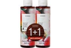 Korres 1+1 ΔΩΡΟ Peach Blossom Showergel Αφρόλουτρο Άνθη Ροδακινιάς, 250ml