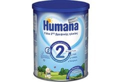 Humana Optimum 2 γάλα 2ης βρεφικής ηλικίας, μετά τον 6ο μήνα, 350gr