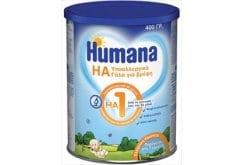 Humana HA 1, υποαλλεργική τροφή πρώτης βρεφικής ηλικίας, 400 gr