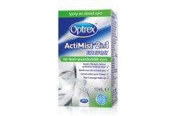 Optrex Actimist Σπρέι 2 σε 1 για Κουρασμένα Μάτια, 10 ml