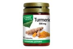 Power Health Turmeric 500mg Αντιοξειδωτικό Συμπλήρωμα Κουρκουμίνης, 30 caps