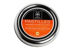 APIVITA Pastilles - Pastilles for Sore Throat and Cough Relief with liquorice & propolis,45gr