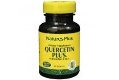 Nature's Plus Quercetin Plus W / Vit C Bromelain Συμπλήρωμα Κουερσετίνης, 60 tabs