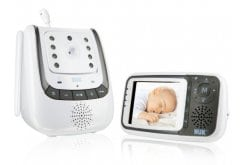 NUK Eco Control plus Video Baby Monitor, 1 piece