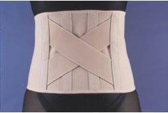 Afrodite Lombostate Ζώνη Οσφύος Χιαστί Ελαστική με Κλείσιμο Ασφαλείας, µε 4 Παρασπονδυλικά Ελάσµατα & Χιαστί Οσφυϊκή Ενίσχυση, 1 τεμάχιο - Νο 2