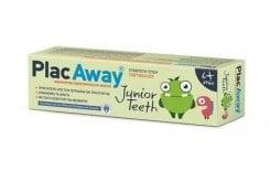 Plac Away Junior Teeth Παιδική Οδοντόκρεμα με Γεύση Πορτοκάλι, 50ml