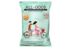 Power Health All Good Crisps Onion & Sour Cream Σνακ Σόγιας με Φυσικά Συστατικά, 30gr