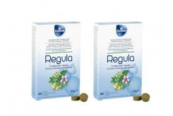 2 x Cosval Regula Tabs 800mg Dietary Supplement for Constipation, 2 x 30 tabs