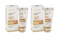 2 x Panthenol Extra Sun Care Spf 50 Diaphanous Face Gel , 2 x 50 ml