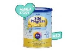 Πακέτο Προσφοράς 12 x Wyeth S26 Progress 3 Gold Βρεφικό Γάλα από τον 12ο μήνα, 12 x 400 gr