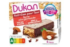 Dukan Expert Oatmeal Wafers with Chocolate, 4 pcs