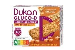 Dukan Expert GLUCO-D Μπάρες βρώμης με γεύση καραμέλα, 120gr