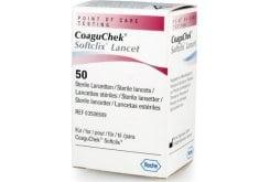 Roche CoaguChek Softclix Lancets Αποστειρωμένες Βελόνες για Μέτρηση Σακχάρου, 50 τεμάχια