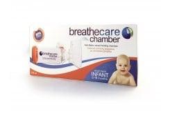 Asepta breathcare Chamber Infant από 0-18 Μηνών Συσκευή Εισπνοής Φαρμάκου με Αντιστατική Βαλβίδα, 1 τεμάχιο