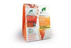 Dr. Organic Manuka Honey Hand & Nail Cream Αντιοξειδωτική & Προστατευτική Κρέμα Χεριών & Νυχιών με Βιολογικό Μέλι Μανούκα, 125ml & ΔΩΡΟ Ενυδατικά Γάντια, 2 τεμάχια
