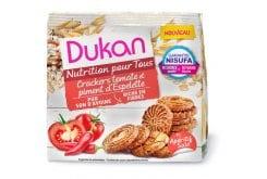 Dukan Κράκερς Βρώμης με τομάτα & πιπεριά,100gr