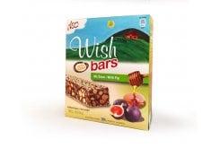 Wish Bars με Γεύση Σύκο & Μέλι 6 x 30 gr